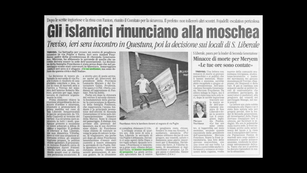 Nicolò Degiorgis The Sheriff & The Travelling Mosque, 2016